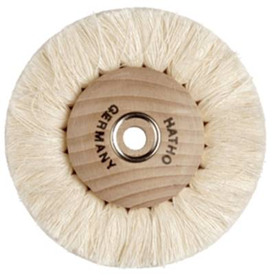 Brosse Circ.Fils Coton Simple Std, Ø 80 mm