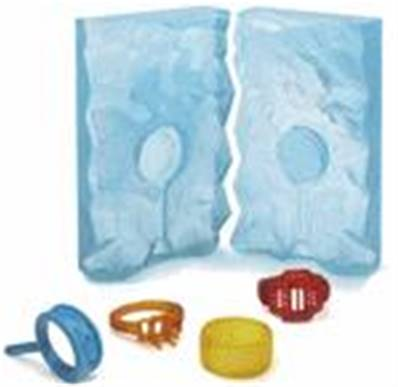 RTV LiquaFast ICE Transparent Castaldo - le Kit 1Kg