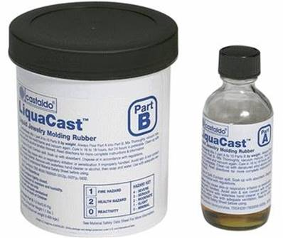 RTV Liqua Cast Rose Castaldo - le Kit 500 gr